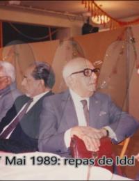 Repas de Idd,Paris, France,1989,Commentaire,Colection Privée