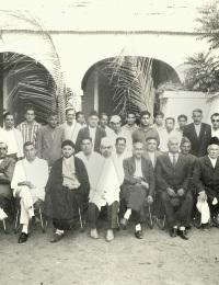 Visite de Ibrahim Bhai,Rue Du Lieutenant Chanar, Toliara, Madagascar,1960,,Ikbal Pyaraly Maoudjee