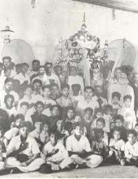 Moharam à l'ancienne mosquée de Tuléar,Tuléar, Madagascar,1932,Commentaire,Colection Privée